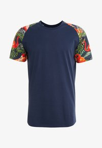 Jack & Jones - JORNEWSPRING TEE CREW NECK - Print T-shirt - navy blazer - 3