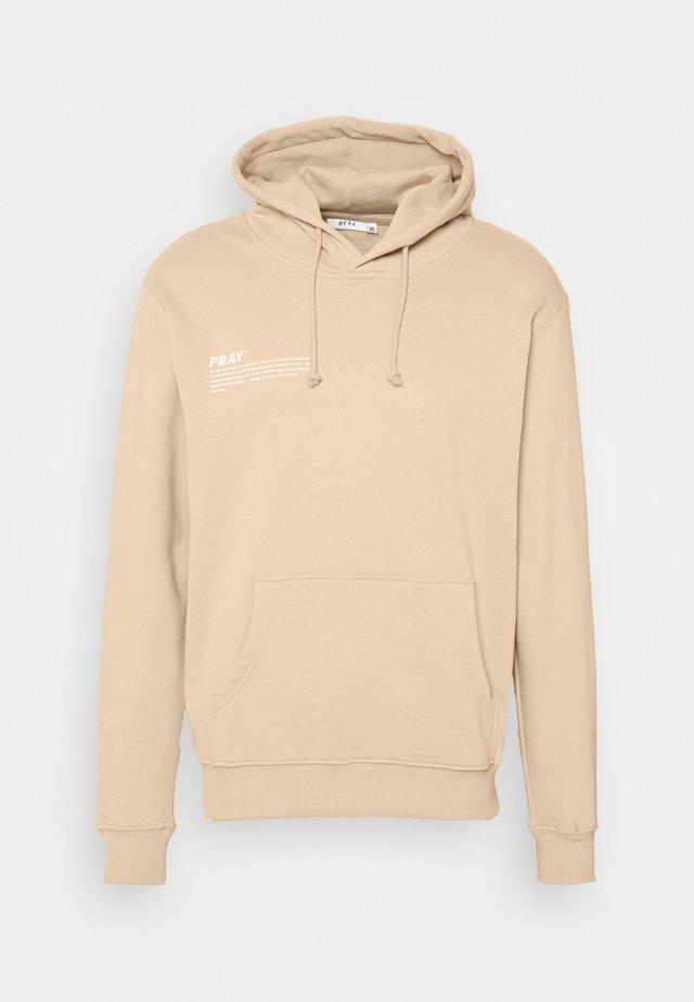 HOPE HOODIE UNISEX  - Sweatshirt - sand