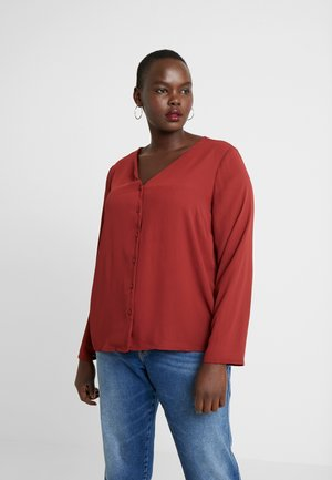 VMEMMA - Blouse - madder brown