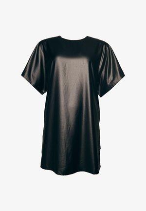 CULT STUDIOS ROCKER  - Vestido de cóctel - wet look black