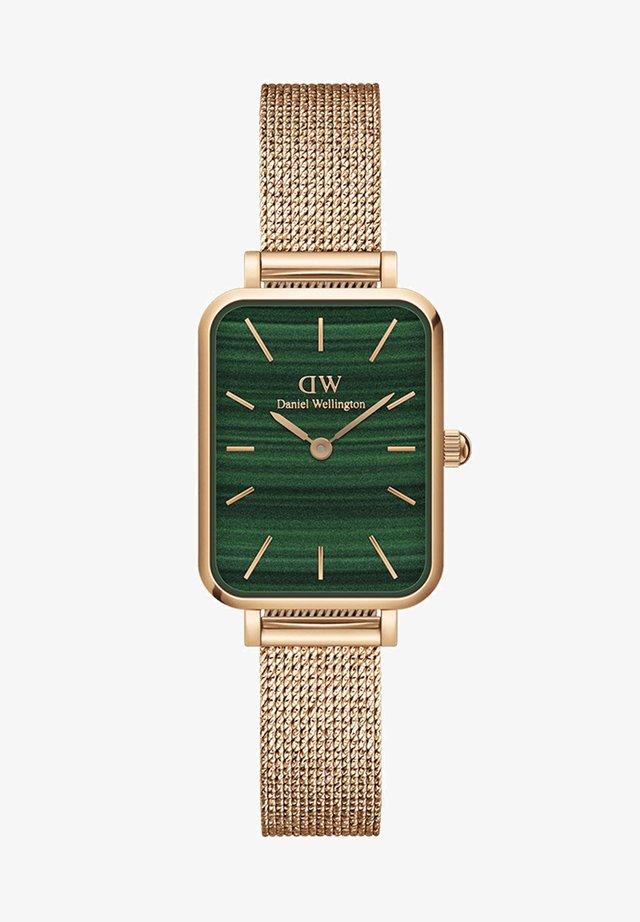 QUADRO PRESSED MELROSE - Uhr - rose gold