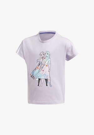 LONG PRO DISNEY FROZEN LOOSE - Print T-shirt - purple