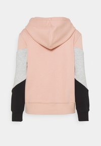 ONLY - ONLPEAR BLOCKING HOOD - Hoodie - misty rose/black - 1