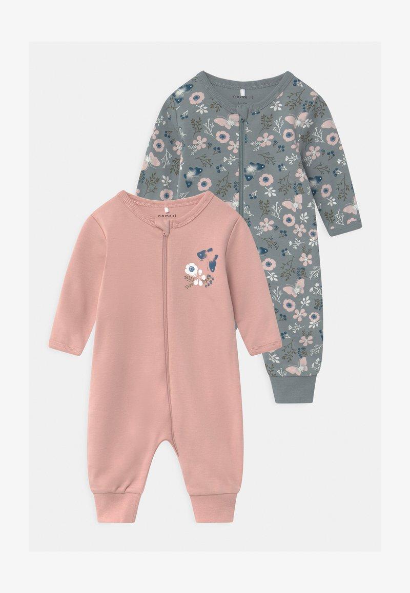 Name it - NBFNIGHTSUIT 2 PACK - Pyžamo - pale mauve