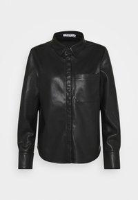 NA-KD - Button-down blouse - black - 5