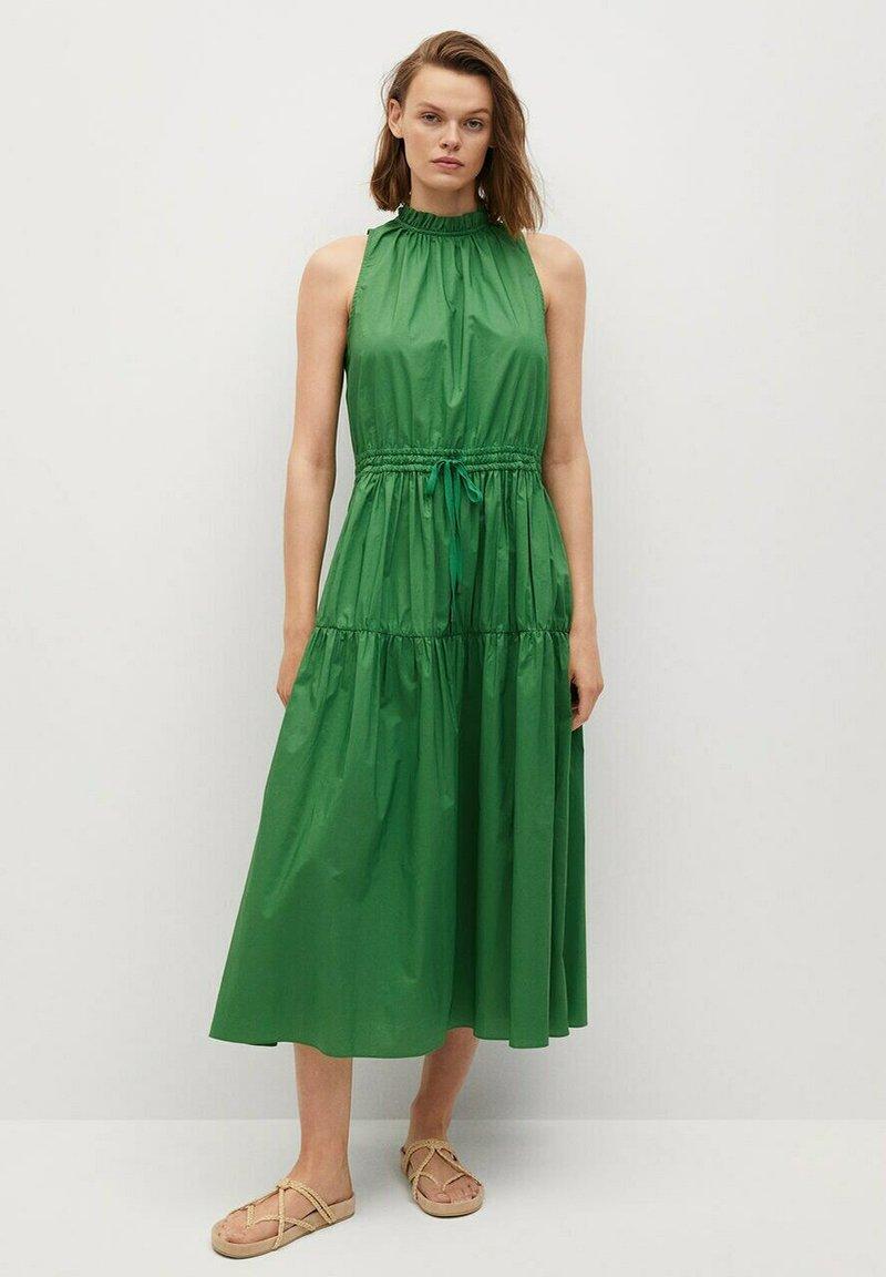 Mango - Day dress - grønn