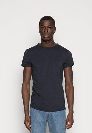 ALAIN - Basic T-shirt - navy