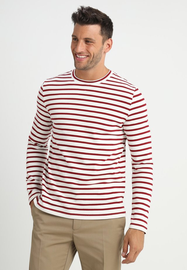 MARKUS  - Jumper - cream/red