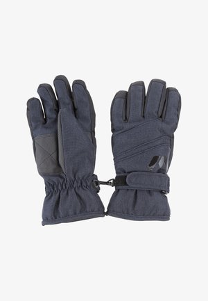 Gloves -  navy blazer