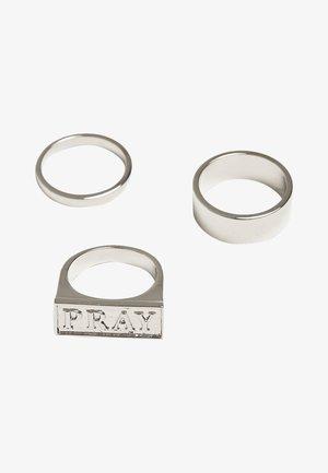 PRAY SET - Ring - silver