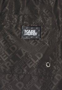 KARL LAGERFELD - ELEGANT ALL-OVER MEDIUM  - Plavky - black - 2