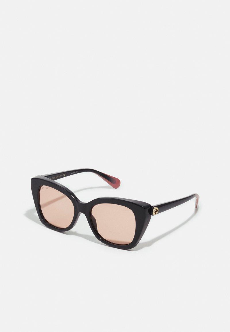 Gucci - Sunglasses - black/orange