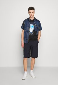Iceberg - T-shirt con stampa - black - 1