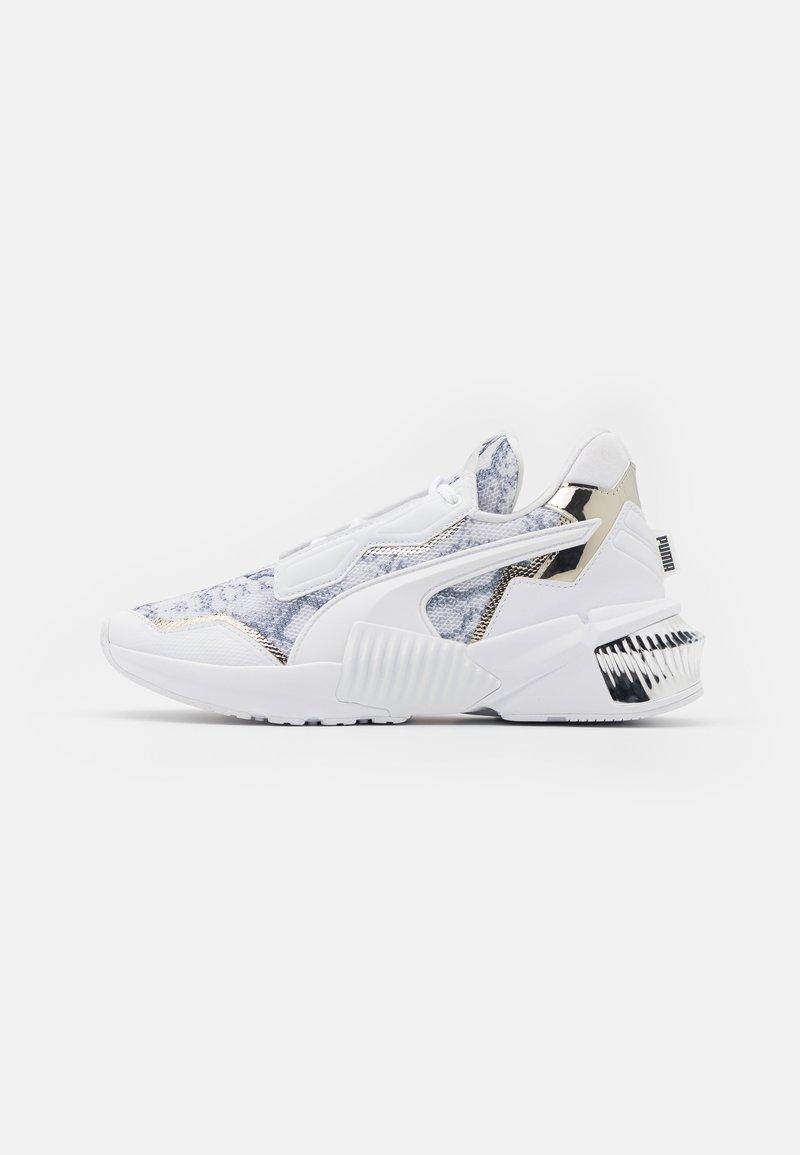 Puma - PROVOKE XT UNTMD UNISEX  - Chaussures d'entraînement et de fitness - white/metallic silver/castlerock