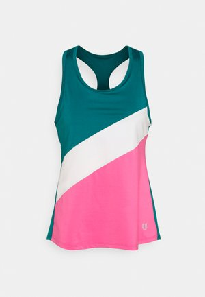 RACE DAY TANK - Top - classic kelly combo