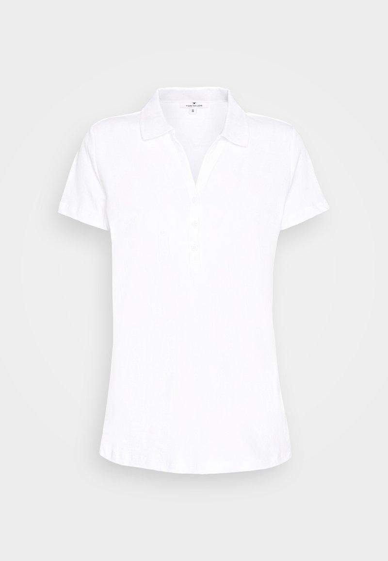 TOM TAILOR - Polo shirt - white