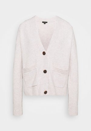 SUPERSOFT CROPPED CARDI - Cardigan - heather charcoal