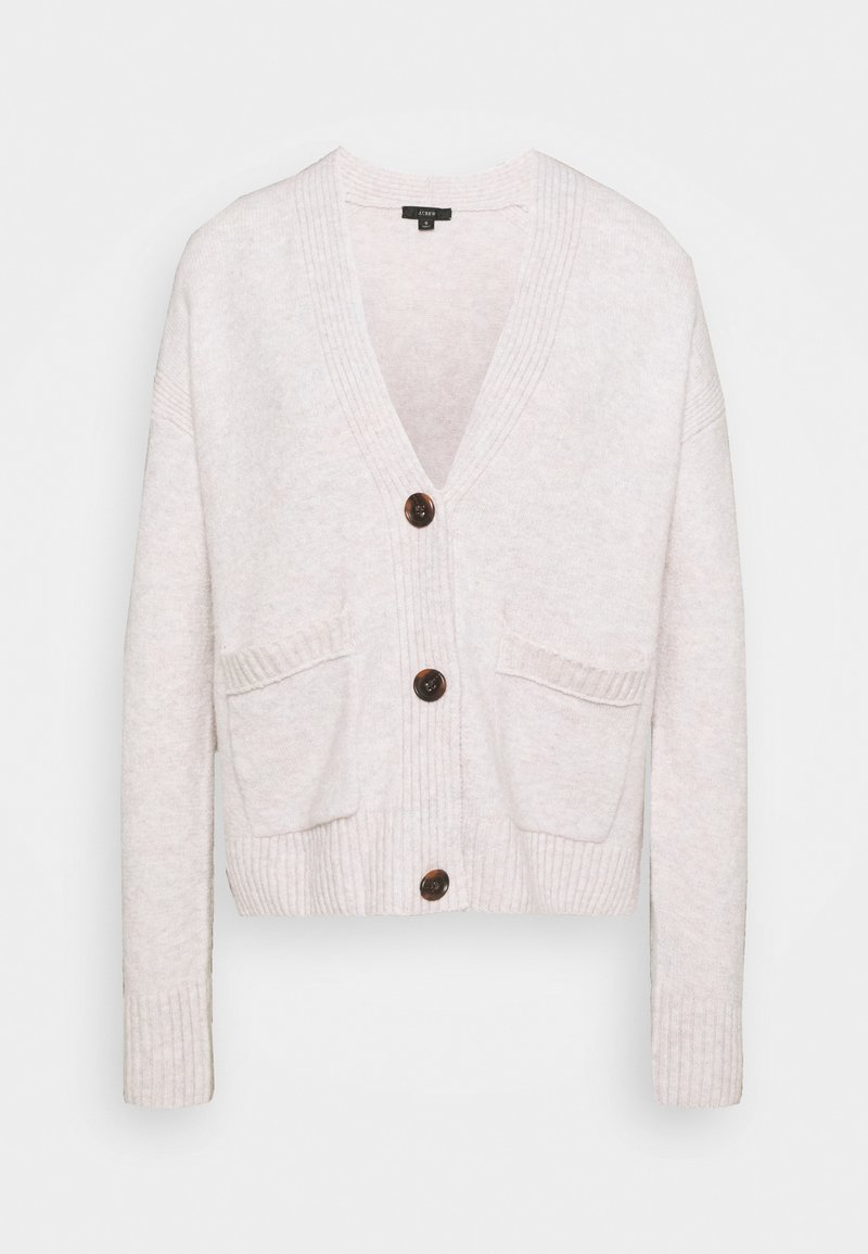 J.CREW - SUPERSOFT CROPPED CARDI - Cardigan - heather charcoal