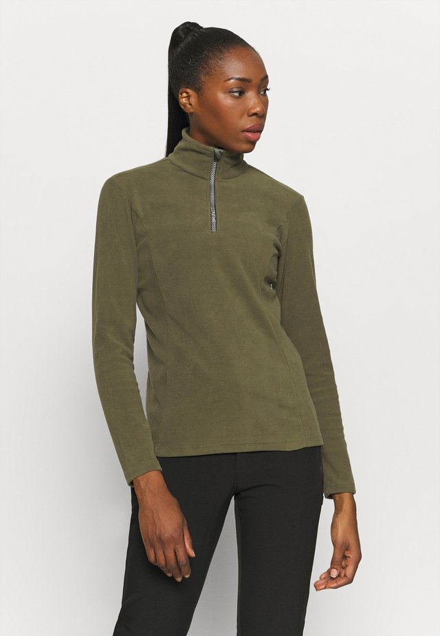 MISMA WOMEN - Fleece trui - sprout