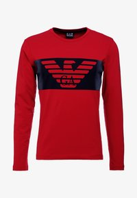 EA7 Emporio Armani - T-shirt à manches longues - red - 4