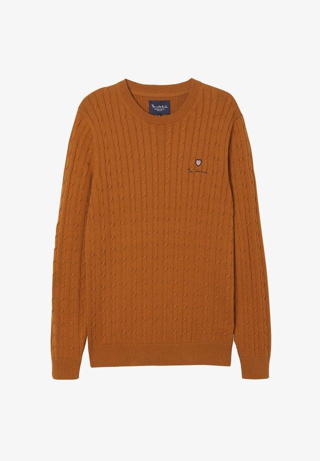 Trui - autumnal orange