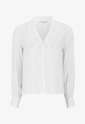 Overhemdblouse - 002 snow white / off white