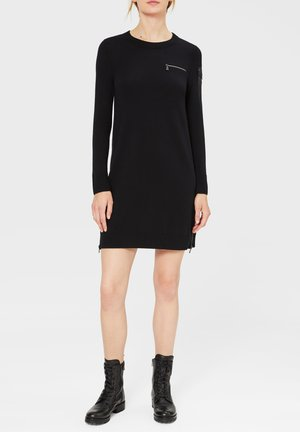 LEIA - Jumper dress - schwarz