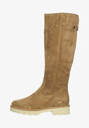 Plateaulaarzen - light brown