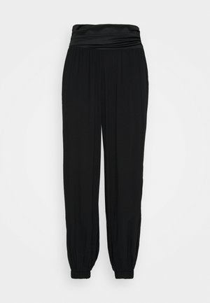 MALBU LONG PANT - Trousers - black