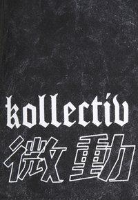 Common Kollectiv - WASHED TWINSET UNISEX - T-shirt imprimé - black - 7