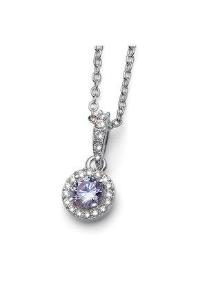 KETTE MIT ANHÄNGER NEED - Necklace - violett