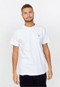 The quiet life - T-shirt imprimé - white - 0