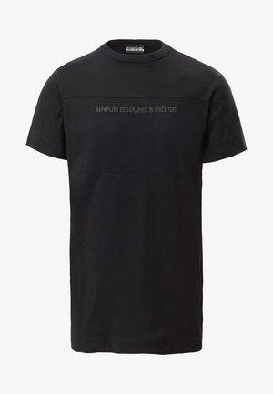 SAIT  - T-Shirt print - black