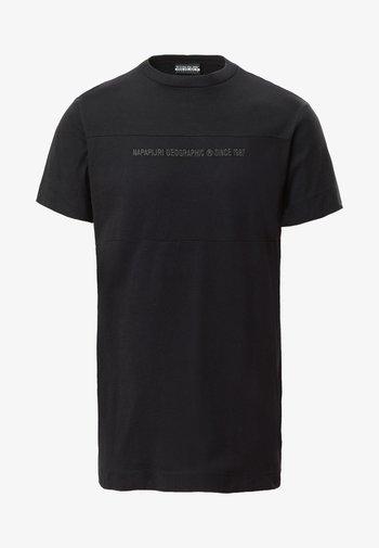 SAIT  - Print T-shirt - black