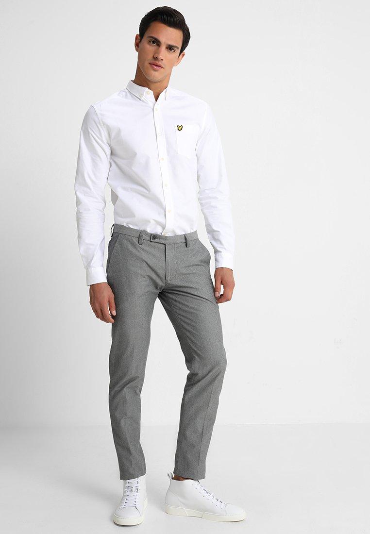 Lyle & Scott REGULAR FIT - Hemd - white/weiß fzxQMt