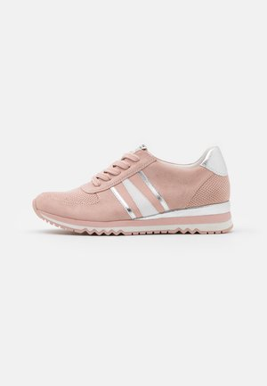 LACE UP - Sneakers basse - rose