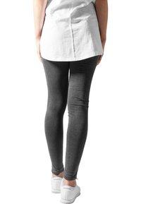 Urban Classics - CUTTED  - Leggings - Trousers - acid black - 2
