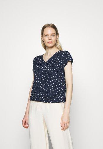 MASSTAB - Print T-shirt - blue/white
