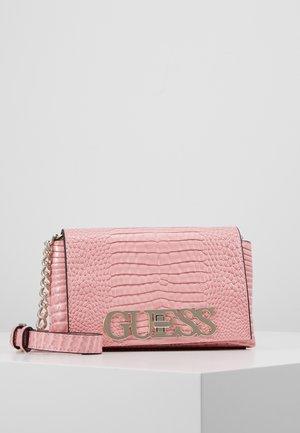 UPTOWN CHIC MINI XBODY FLAP - Across body bag - pink