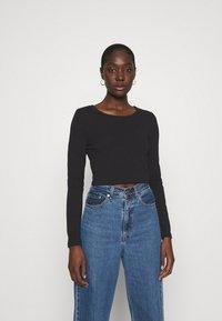 Zign - REDEZIGN - Long sleeved top - black - 0