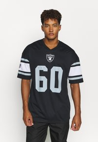 Fanatics - NFL OAKLAND RAIDERS ICONIC FRANCHISE SUPPORTERS JERSEY - Top - black - 0