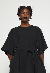 MM6 Maison Margiela - DRESS - Day dress - black - 3