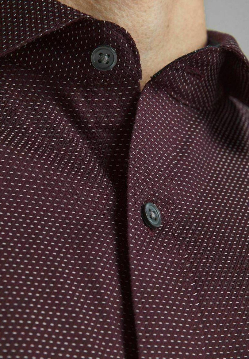 Herren SLIM FIT DOBBY - Hemd
