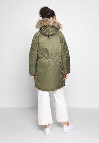 American Eagle - FLIGHT  - Winter coat - olive - 2