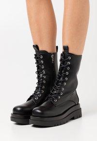 RAID - DAHLIA - Platform ankle boots - black - 0