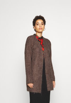BERIL CARDIGAN - Strikjakke /Cardigans - brown