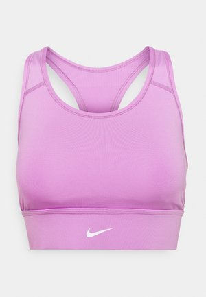 LONG LINE BRA - Medium support sports bra - violet shock/white