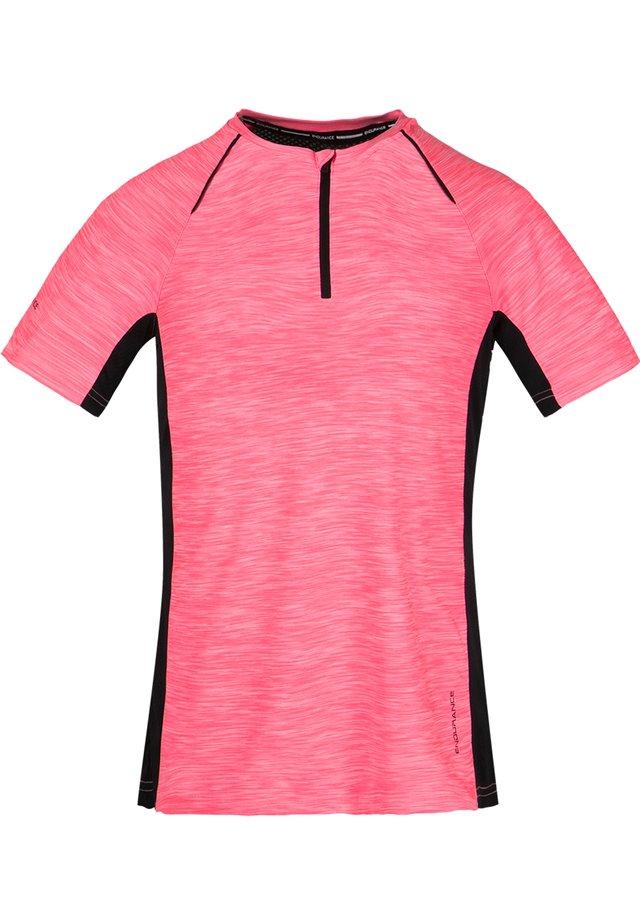 DENY W ACTIV QXL - Print T-shirt - 4073 pitaya pink