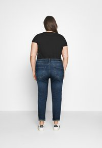 Simply Be - HIGH WAIST MOM JEANS - Relaxed fit jeans - new vintage blue - 2