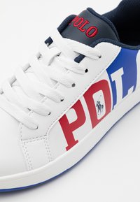 Polo Ralph Lauren - OAKLYNN II - Trainers - white smooth/royal red/white - 5